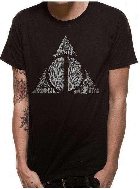 T-shirt Symbole Reliques adulte - Harry Potter