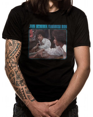Jimi Hendrix Mannish Boy -T-paita Miehille