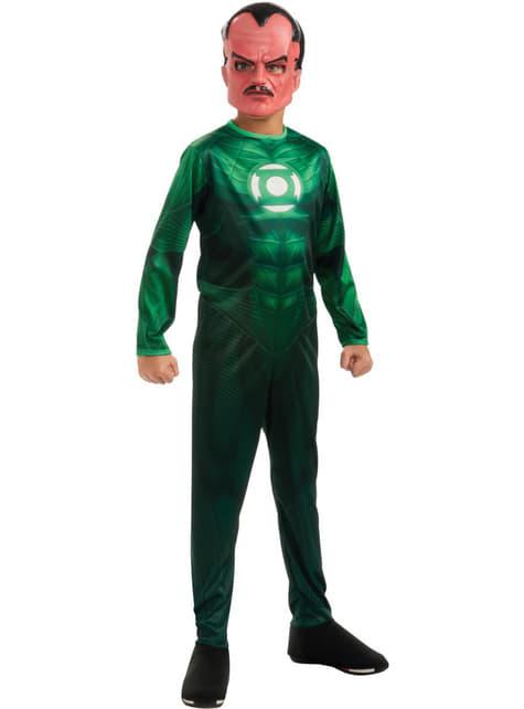 Green Lantern Kostüm Sinister für Jungen