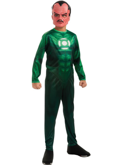 Green Lantern Sinestro Kids Costume