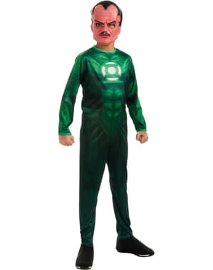 Fato de Sinestro de Lanterna Verde para menino