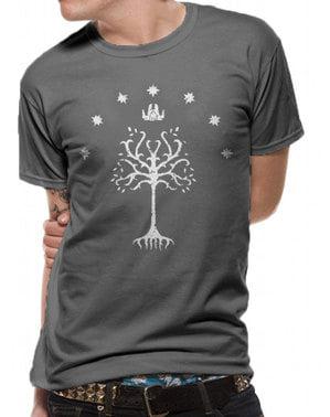 T-shirt Le Seigneur des anneaux Arbre blanc du Gondor homme