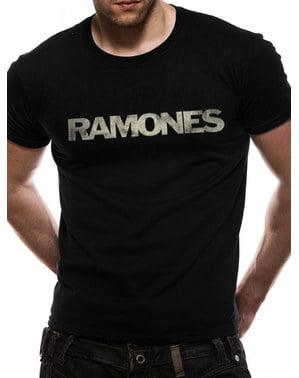 T-shirt Ramones Logga för vuxen Unisex