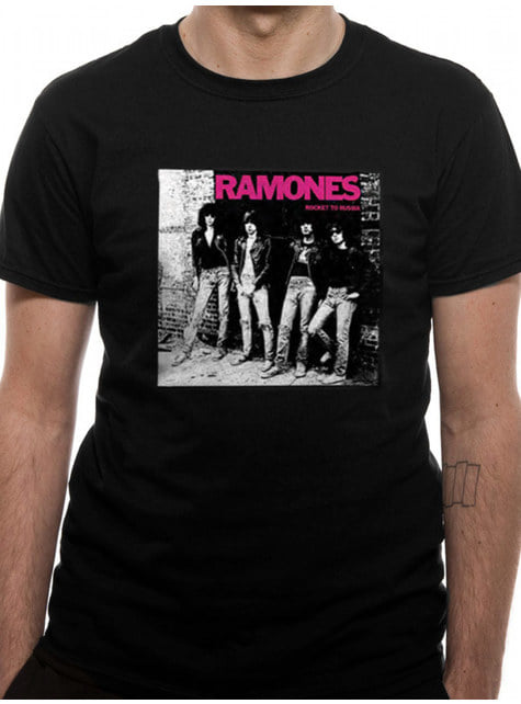 Camiseta Ramones Rocket to Russia para hombre