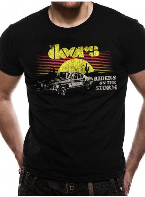 The Doors Car Riders T-Skjorte til Menn