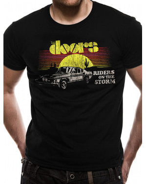 The Doors Car Riders T-Shirt til mænd