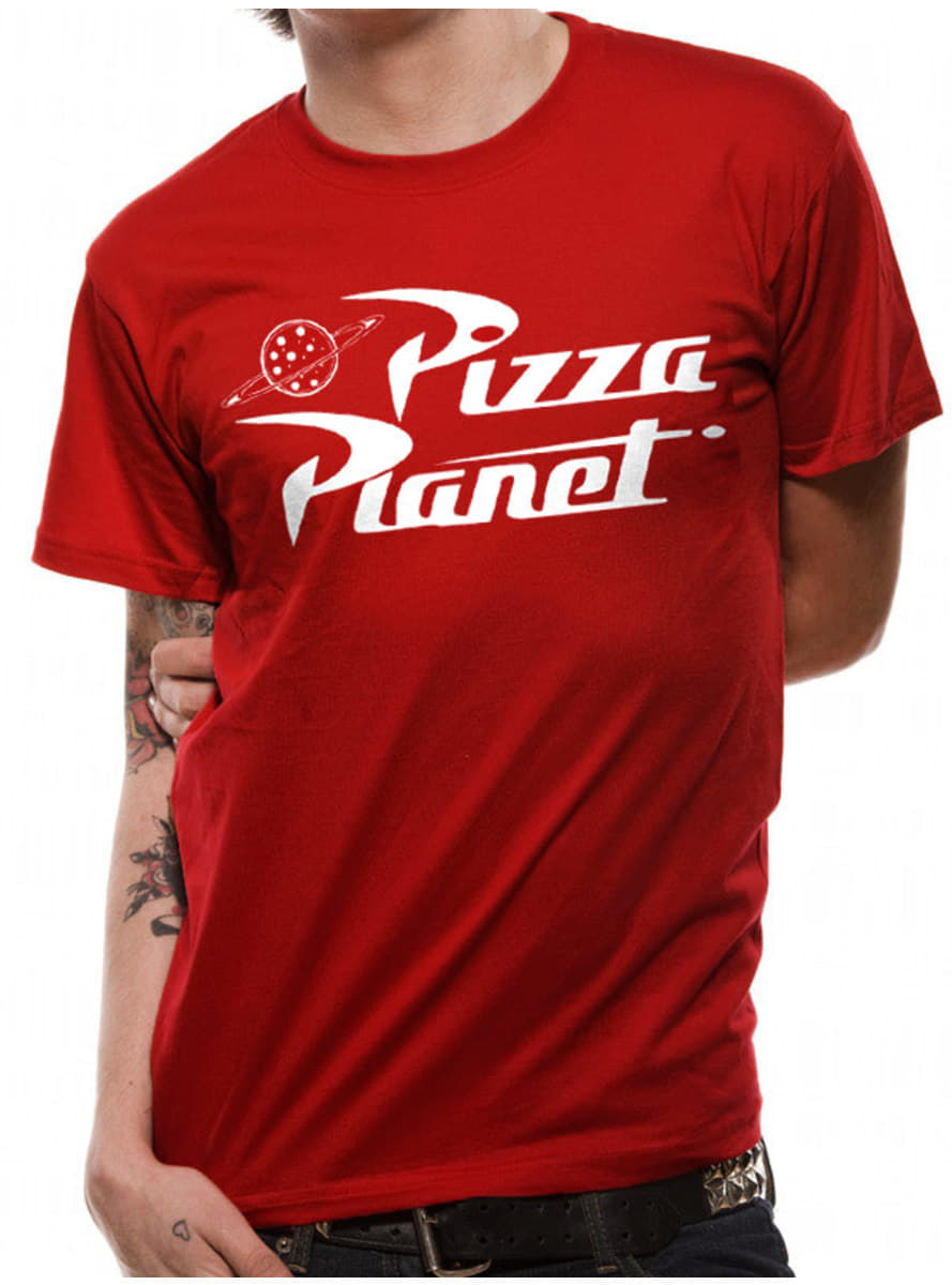 Camiseta Pizza Planet Para Adulto Toy Story