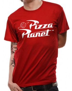 Koszulka dla dorosłych z logo Pizza Planet - Toy Story
