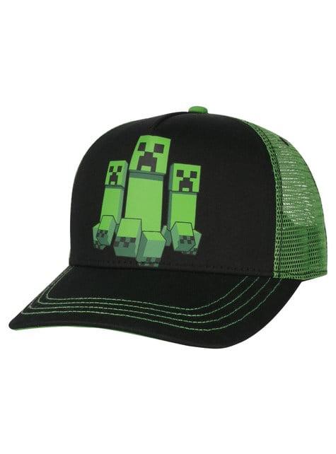 Gorra Minecraft Creeper Rush para hombre