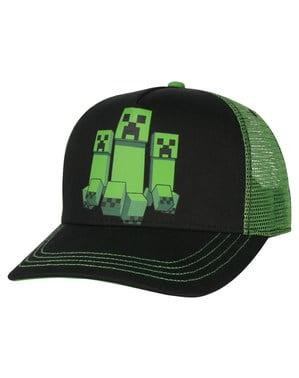 पुरुषों के लिए Minecraft क्रीपर रश टोपी