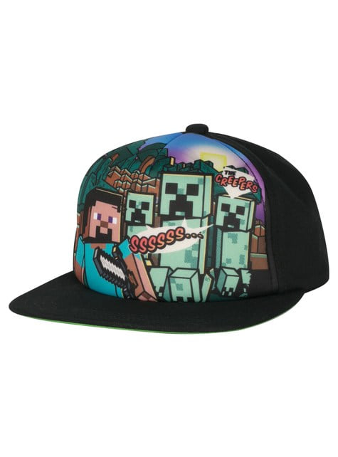 Gorra Steve Overworld para adulto - Minecraft