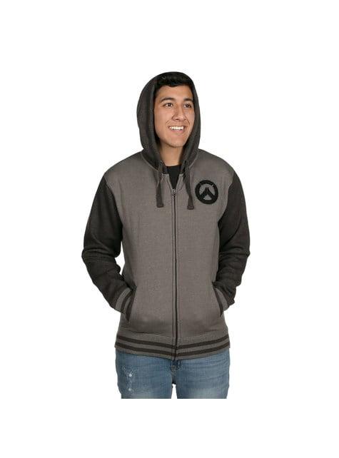 Sweatshirt Overwatch cinzenta para homem