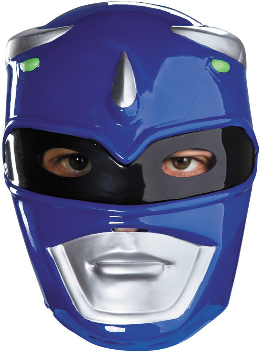 blue power ranger mask  express delivery