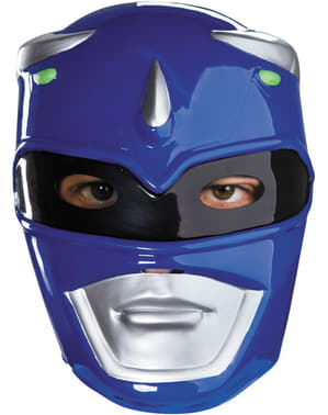 Máscara Power Rangers Mighty Morphin azul