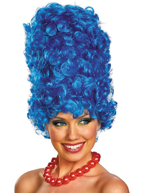 Paruka Marge Simpson deluxe