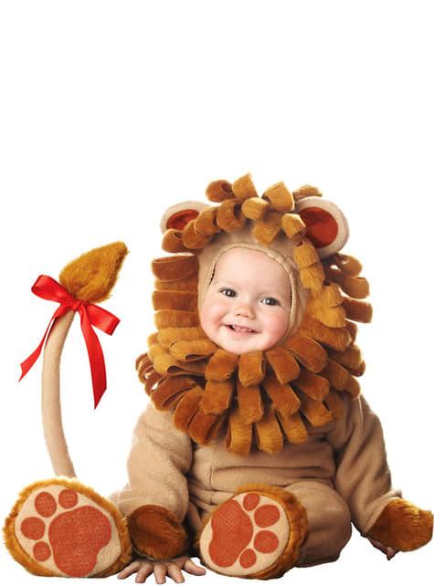 Smeđi lav kostim za bebe