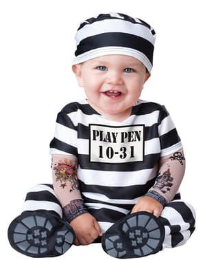 Costume da prigioniero per neonato