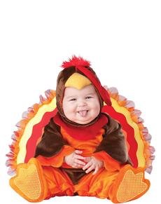 Disfraz de pavo real para bebé