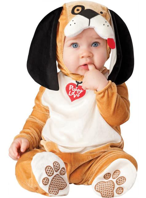 Strój pies jamnik dla niemowlaka