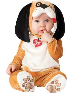 Kostium pies jamnik dla niemowlaka