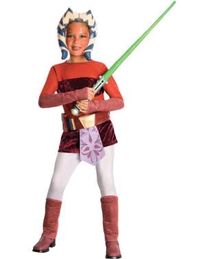 Costum Ahsoka The Clone Wars deluxe pentru copii