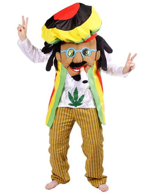 Rastafariánsky kostým pre dospelých