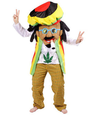 Rastafari Kostyme Voksen