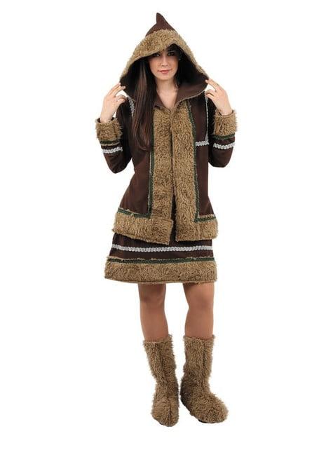Disfraz de esquimal mujer
