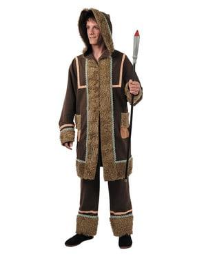 Eskimo kostume til mænd
