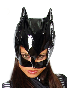 Masque de femme chat