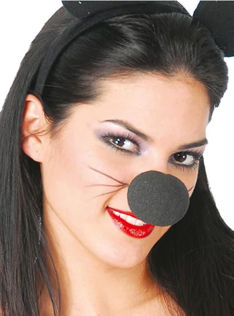 Nas negru de spumă
