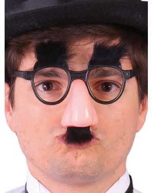 Naso con occhiali da Groucho Marx