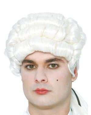 Edullinen 1700-luvun herrasmiehen peruukki