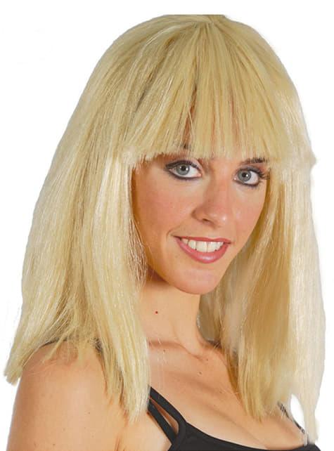 Peruka Kleopatry blond