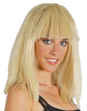 Perruque de Cléopâtre blonde