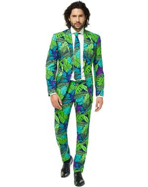 Tropischer Dschungel Anzug - Opposuits