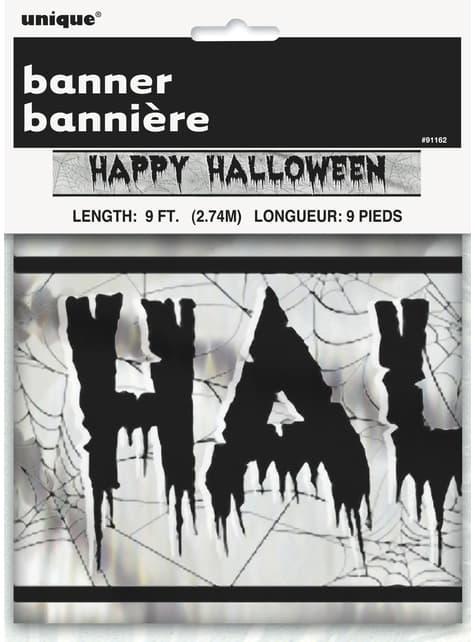 Cartel Happy Halloween - Basic Halloween - para tus fiestas