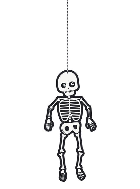 3 esqueletos colgantes - Skeleton Trick or Treat
