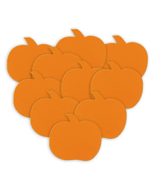10 siluete decorative de dovleci - Basic Halloween