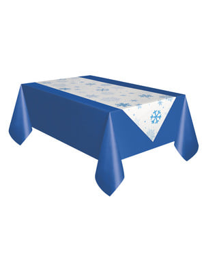 Runner per tavolo natalizio - White Snowflakes