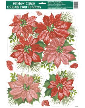 Diverse kerst raam decoraties - Basic Christmas