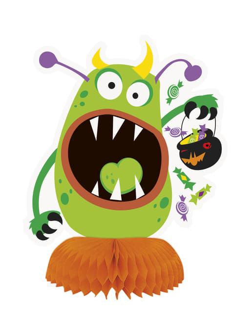 Set de 3 decoraciones de mesa de monstruos infantiles - Silly Halloween Monsters