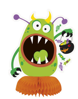 3 Monster Tisch-Deko - Silly Halloween Monsters