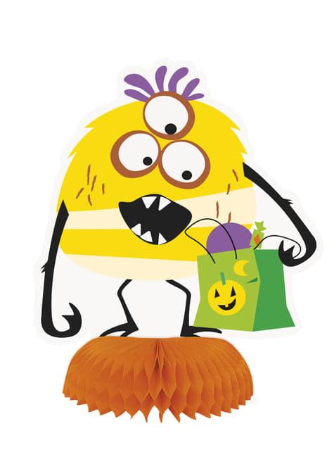 3 Monster Tisch-Deko - Silly Halloween Monsters