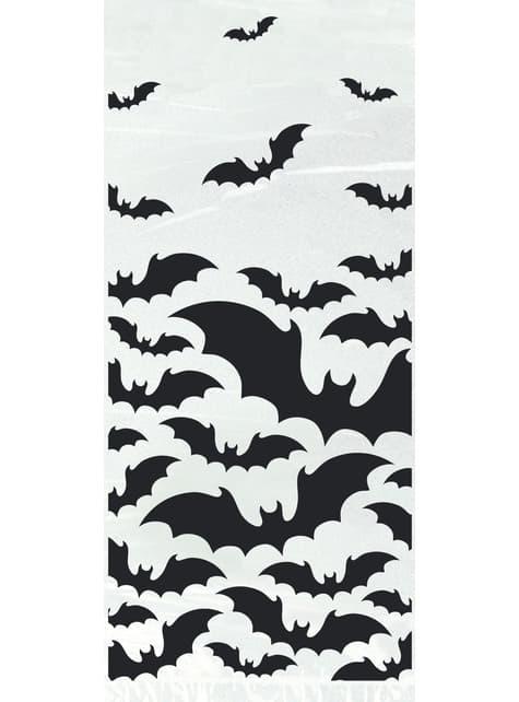 20 saquinhos transparentes com morcegos - Black Bats Halloween