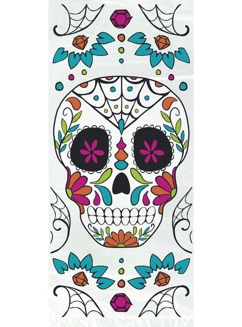 20 Catrina Zellophan-Tüten - Day of the Dead