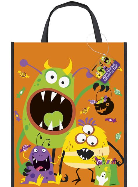 Saco para caramelos de monstros infantis - Silly Halloween Monsters