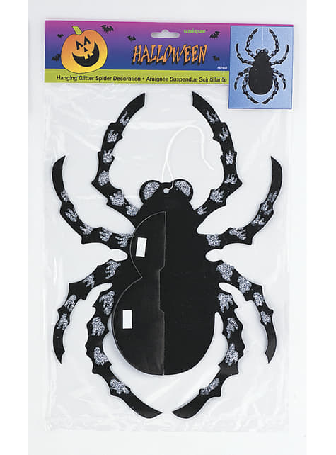 Araña decorativa colgante de papel