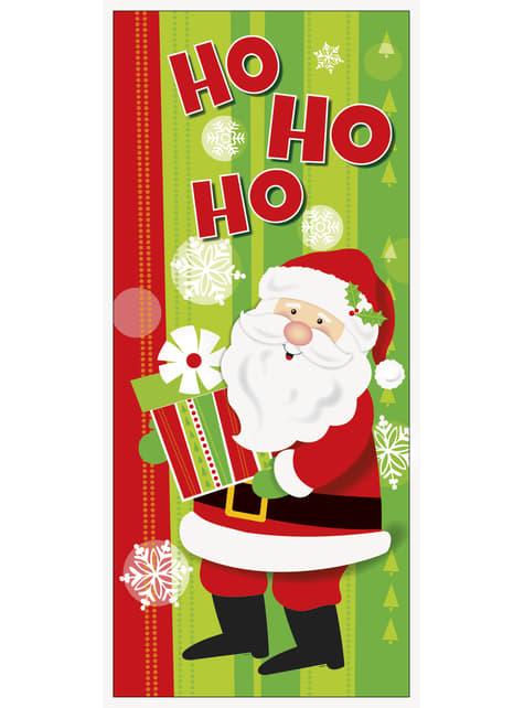 Cartel para puerta de Papá Noel - Happy Santa