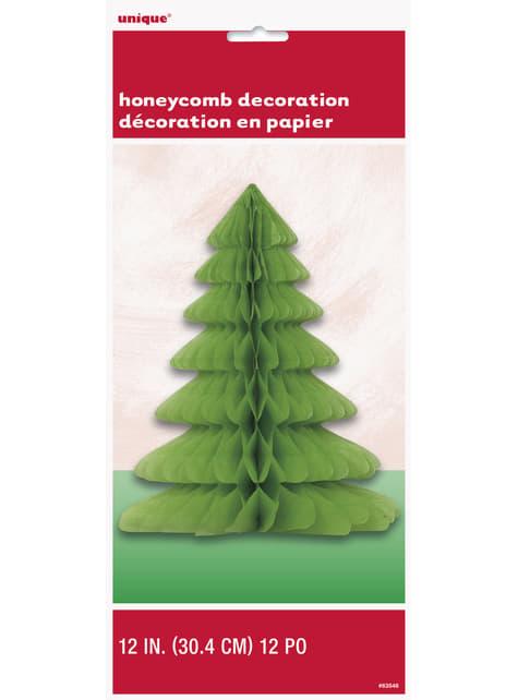 Centro de mesa de panel de abeja árbol navideño - Basic Christmas - para tus fiestas